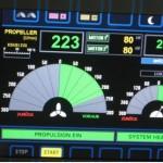 b + Stbd. Wellen mit ca. 220 rpm und je 160 kWe am Propeller